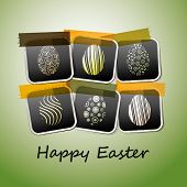 picture of happy easter  - Happy Easter Card - JPG