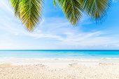 Dominican Republic, Saona Island Beach poster