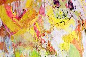 image of abstract painting  - Mixed technics - JPG