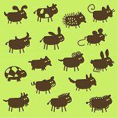 stock photo of cash cow  - farm animals  - JPG