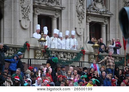 Chefs on a Balcony