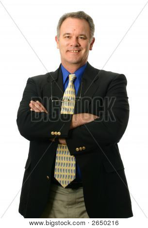 Businessman With Smile