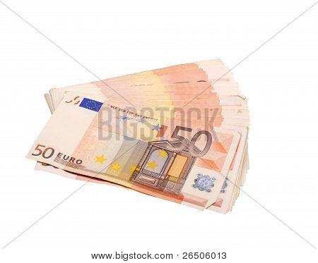 Fifty Euro Bills