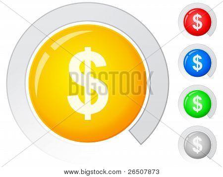 Buttons Dollar