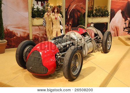 Historic Alfa Romeo Racing Car