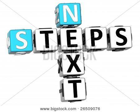 3D Next Steps Crossword