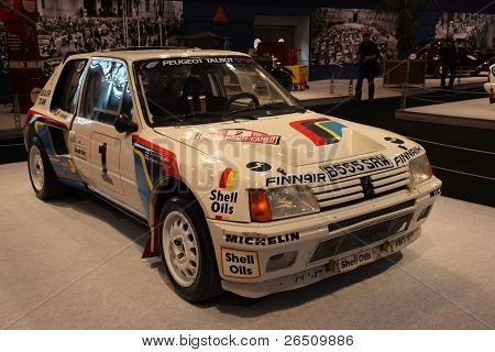 Essen - Nov 29: Peugeot 205 Turbo 16