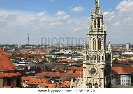 Marienplatz Munich-Germany