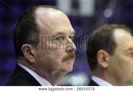 Head Coach Of Ukraine Ice-hockey Team David Lewis