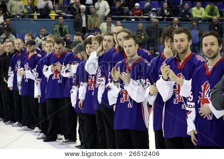 Great Britain - The Silver Medalist Of Iihf World Championship Div I