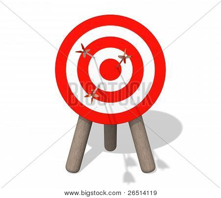 Target Board With Arrows