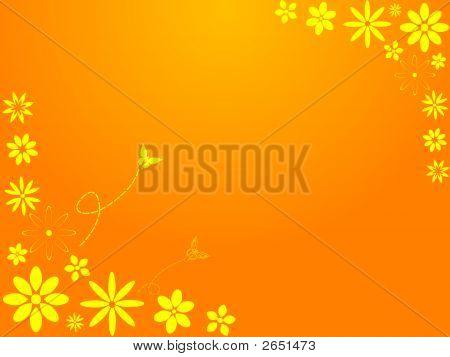 Springtime Retro Flowers