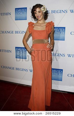 LOS ANGELES, CA - DEC 3: Alexandra Fulton at the 3rd Annual 'Change Begins Within' Benefit Celebration presented by The David Lynch Foundation at LACMA on December 3, 2011 in Los Angeles, California