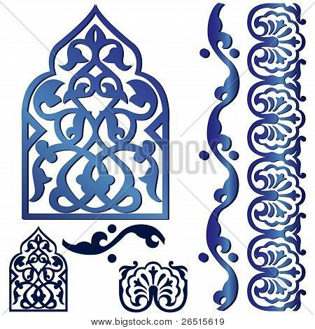Vector Islamic Design Element