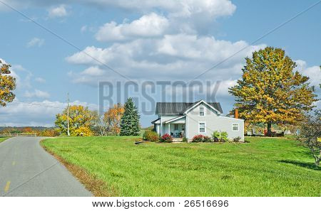 Farm House In America