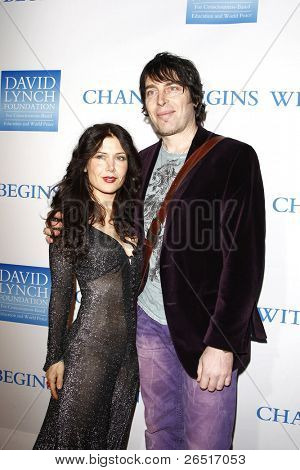 LOS ANGELES, CA - DEC 3: Lili Haydn; Itai Disraeli at the 3rd Annual 'Change Begins Within' Benefit Celebration presented by The David Lynch Foundation at LACMA on December 3, 2011 in Los Angeles, CA