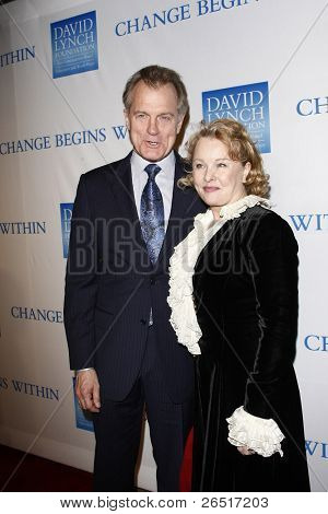 LOS ANGELES, CA - DEC 3: Stephen Collins; wife Faye Grant at the 3rd Annual 'Change Begins Within' Benefit Celebration held at LACMA on December 3, 2011 in Los Angeles, California