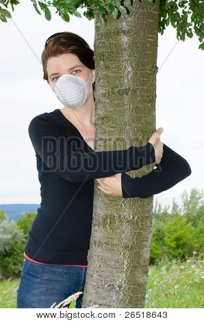 Environmentalist Woman
