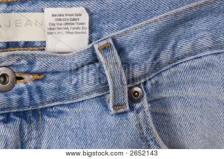 Jeans And Tag