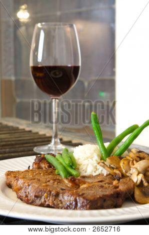 Steak Meal Ribeye