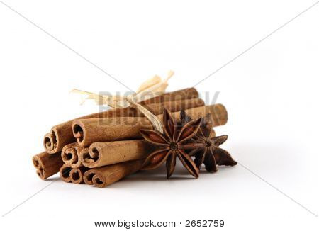 Bundle Of Cinnamon Sticks