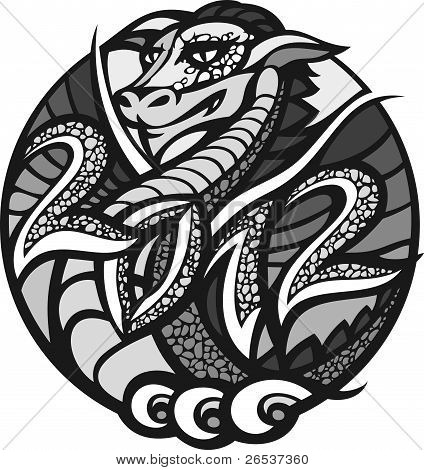 2012 - Year of the Dragon.