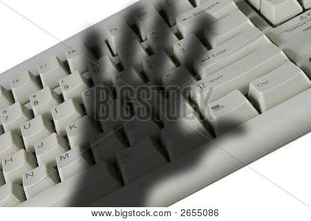 Keyboard In Hand