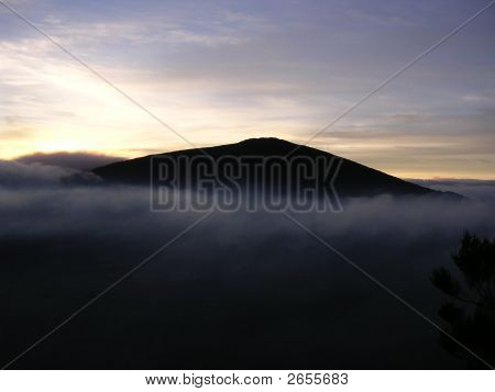 Sunrise On A Volcano