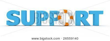 Support Blue - Life Belt