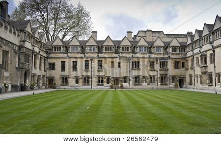 A college in Oxford University, United Kingdom