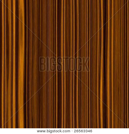 Seamless brown wood texture made of contrasty vertical stripes