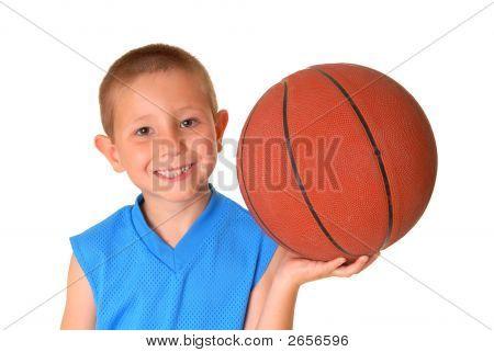 Muchacho de baloncesto