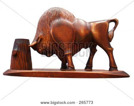 Wooden Bison