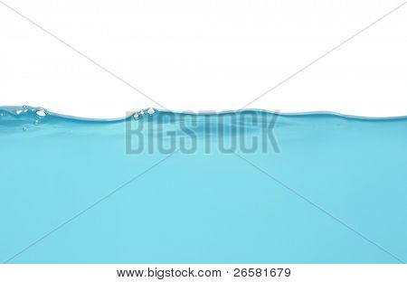 Water level isolated on white