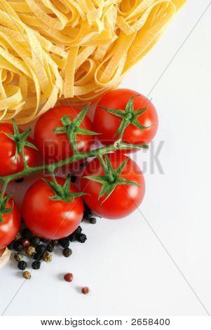 Italian Tagliatelle Background