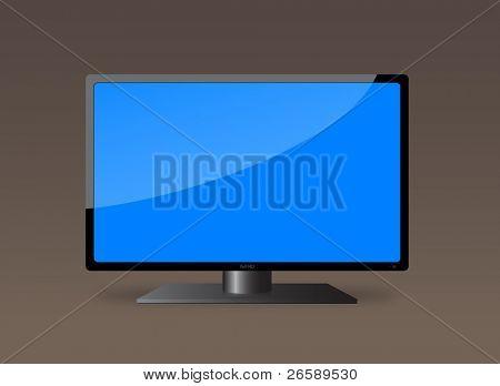 LCD TV. Eps10