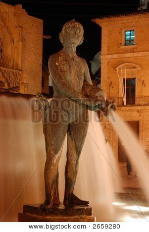 Fountain In Valencia, Spain