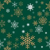 Seamless Christmas Gift Wrapping Paper Pattern Texture Wallpaper. poster