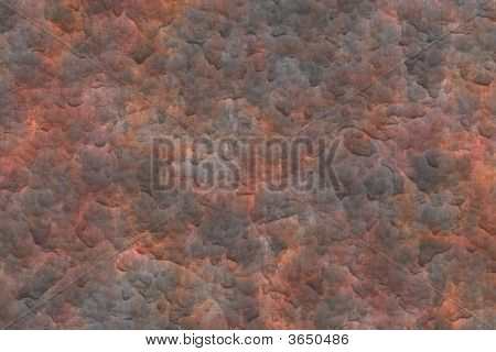 Rusty Metal Plate Texture Grunge Background