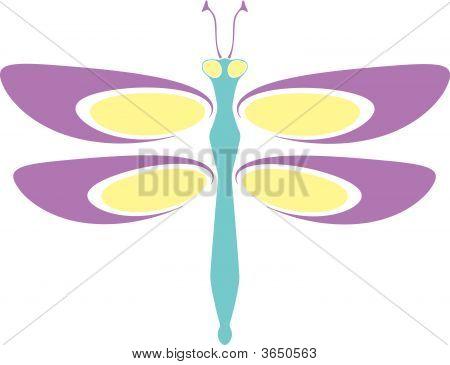 Retro Dragonfly