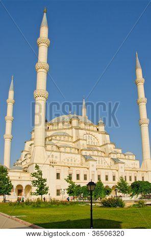 Sabanci Merkez Camii (mosque) in Adana, Turkey