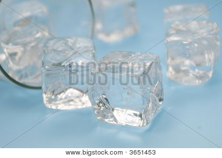 Dangers Of Drinking Alcohol: Spilled Drinkand  Ice