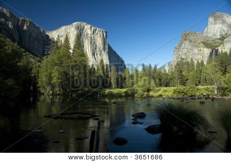 Yosemite River Bend