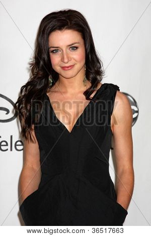 LOS ANGELES - AUGUST 1:  Caterina Scorsone arrive(s) at the 2010 ABC Summer Press Tour Party at Beverly Hilton Hotel on August 1, 2010 in Beverly Hills, CA