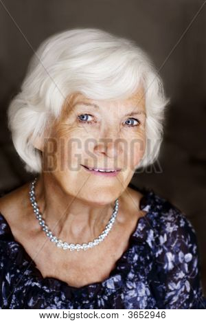 Elegant Senior Woman