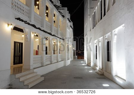 Souq Waqif At Night, Doha Qatar