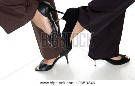 Legs Of Businesswomen