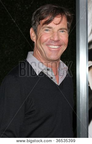 LOS ANGELES - SEP 4:  Dennis Quaid arrives at