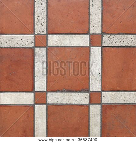 terra cotta tiles background