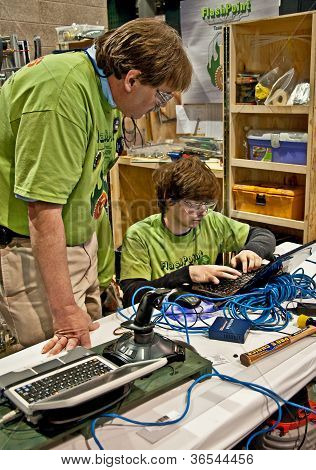Seattle, Wa - March 17 - State Teen Robotics Competition